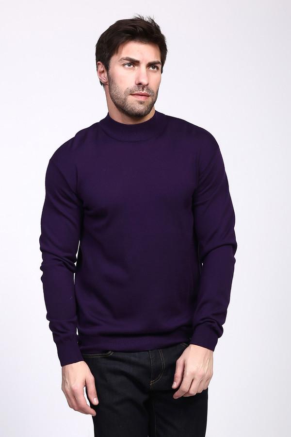 Джемпер PezzoДжемперы и Пуловеры<br><br><br>Размер RU: 48<br>Пол: Мужской<br>Возраст: Взрослый<br>Материал: шерсть 50%, акрил 50%<br>Цвет: Фиолетовый