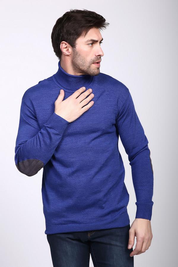 Джемпер PezzoДжемперы и Пуловеры<br><br><br>Размер RU: 46<br>Пол: Мужской<br>Возраст: Взрослый<br>Материал: шерсть 50%, акрил 50%<br>Цвет: Синий