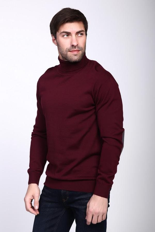 Джемпер PezzoДжемперы и Пуловеры<br><br><br>Размер RU: 48<br>Пол: Мужской<br>Возраст: Взрослый<br>Материал: шерсть 50%, акрил 50%<br>Цвет: Бордовый