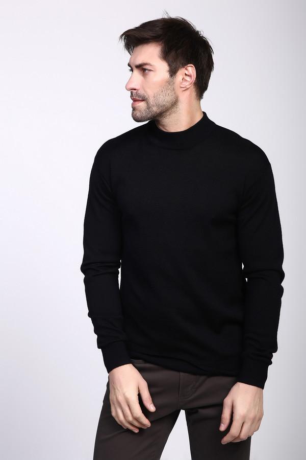 Джемпер PezzoДжемперы и Пуловеры<br><br><br>Размер RU: 52<br>Пол: Мужской<br>Возраст: Взрослый<br>Материал: шерсть 50%, акрил 50%<br>Цвет: Чёрный