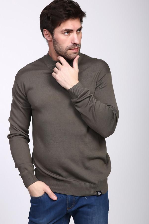 Джемпер PezzoДжемперы и Пуловеры<br><br><br>Размер RU: 52<br>Пол: Мужской<br>Возраст: Взрослый<br>Материал: шерсть 50%, акрил 50%<br>Цвет: Серый