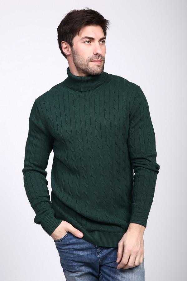 Джемпер PezzoДжемперы и Пуловеры<br><br><br>Размер RU: 56<br>Пол: Мужской<br>Возраст: Взрослый<br>Материал: хлопок 100%<br>Цвет: Зелёный