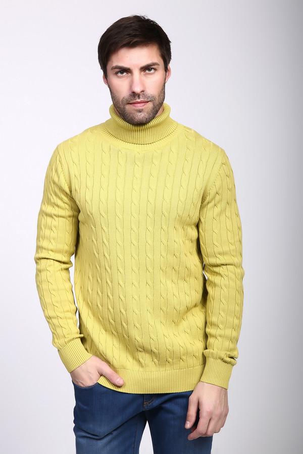 Джемпер PezzoДжемперы и Пуловеры<br><br><br>Размер RU: 50<br>Пол: Мужской<br>Возраст: Взрослый<br>Материал: хлопок 100%<br>Цвет: Жёлтый