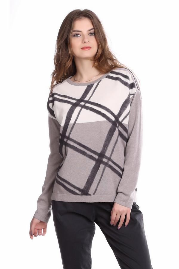 Пуловер Luisa CeranoПуловеры<br>Женский пуловер Luisa Cerano модного свободного покроя, декорированный молниями на плечах. Такой пуловер отлично скроет лишние килограммы, в нем удобно и отдыхать и работать. Благодаря своей нейтральной расцветке он подходит девушкам любого цветотипа, а так же возраста. Это идеальный вариант повседневного верха, так как универсальный и очень удобный.<br><br>Размер RU: 40<br>Пол: Женский<br>Возраст: Взрослый<br>Материал: кашемир 10%, шерсть 70%, шелк 20%<br>Цвет: Разноцветный