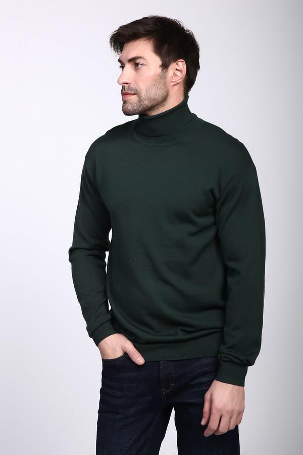 Джемпер PezzoДжемперы и Пуловеры<br><br><br>Размер RU: 52<br>Пол: Мужской<br>Возраст: Взрослый<br>Материал: шерсть 50%, акрил 50%<br>Цвет: Зелёный