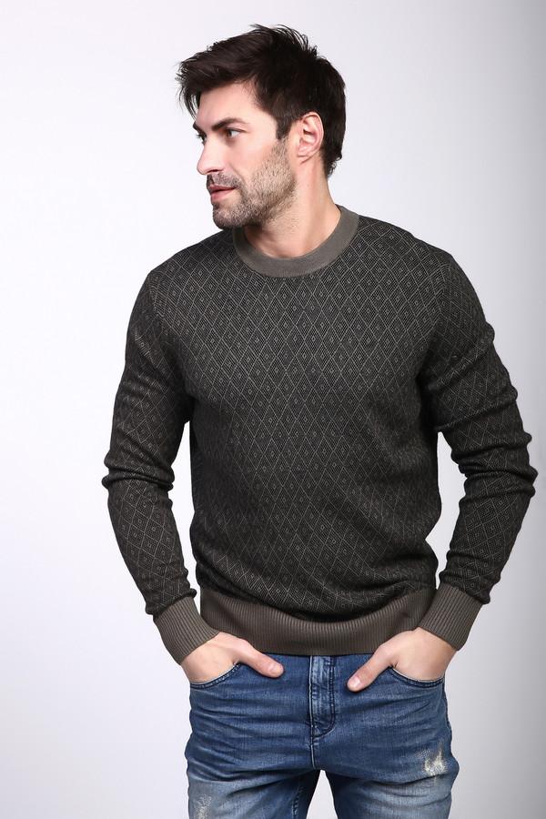 Джемпер PezzoДжемперы и Пуловеры<br><br><br>Размер RU: 48<br>Пол: Мужской<br>Возраст: Взрослый<br>Материал: вискоза 55%, полиамид 22%, шерсть 23%<br>Цвет: Разноцветный