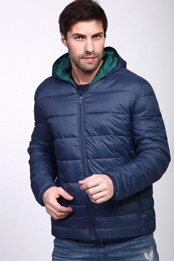 Куртка PezzoКуртки<br><br><br>Размер RU: 56<br>Пол: Мужской<br>Возраст: Взрослый<br>Материал: нейлон 100%, Состав_наполнитель полиэстер 100%, Состав_подкладка нейлон 100%<br>Цвет: Синий