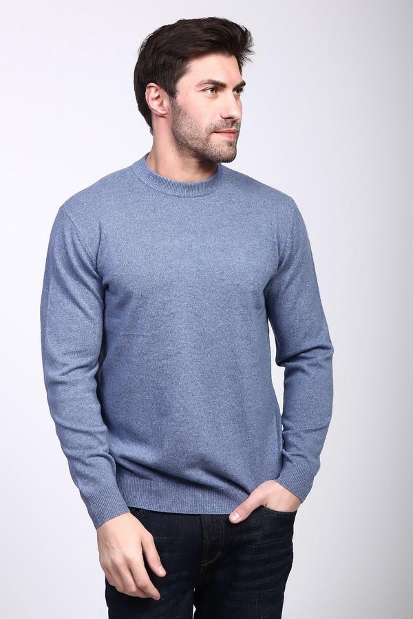 Джемпер Just ValeriДжемперы и Пуловеры<br><br><br>Размер RU: 56<br>Пол: Мужской<br>Возраст: Взрослый<br>Материал: кашемир 100%<br>Цвет: Голубой