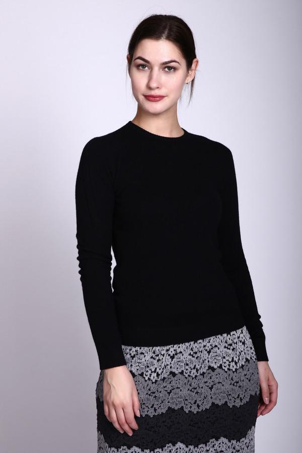 Пуловер Just ValeriПуловеры<br><br><br>Размер RU: 42<br>Пол: Женский<br>Возраст: Взрослый<br>Материал: кашемир 100%<br>Цвет: Чёрный