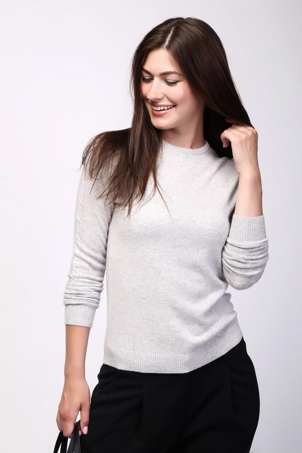 Пуловер Just ValeriПуловеры<br><br><br>Размер RU: 52<br>Пол: Женский<br>Возраст: Взрослый<br>Материал: кашемир 100%<br>Цвет: Серый