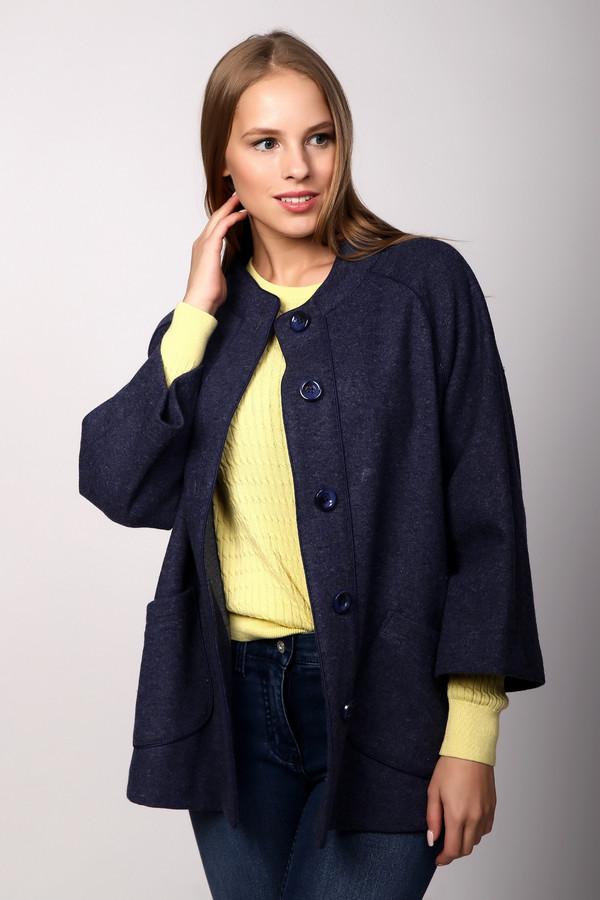 Пальто PezzoПальто<br><br><br>Размер RU: 44<br>Пол: Женский<br>Возраст: Взрослый<br>Материал: шерсть 60%, нейлон 100%, полиэстер 40%<br>Цвет: Синий