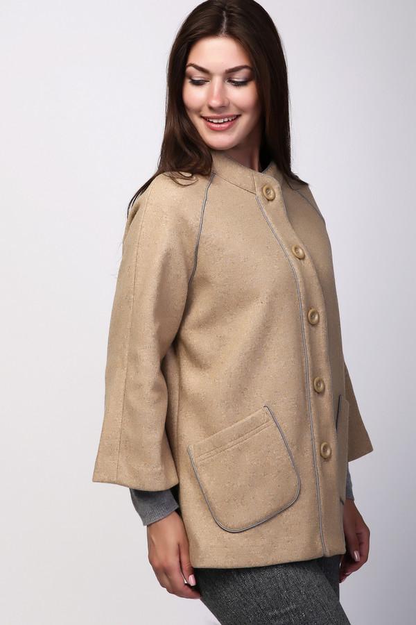 Купить Пальто Pezzo, Китай, Бежевый, шерсть 60%, нейлон 100%, полиэстер 40%