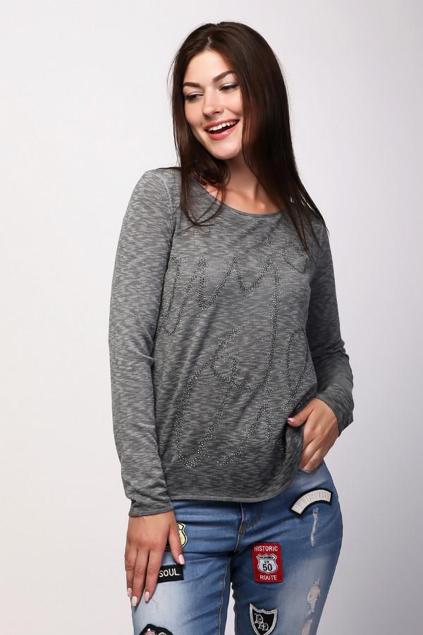 Пуловер MonariПуловеры<br><br><br>Размер RU: 44<br>Пол: Женский<br>Возраст: Взрослый<br>Материал: вискоза 73%, полиэстер 27%<br>Цвет: Серый