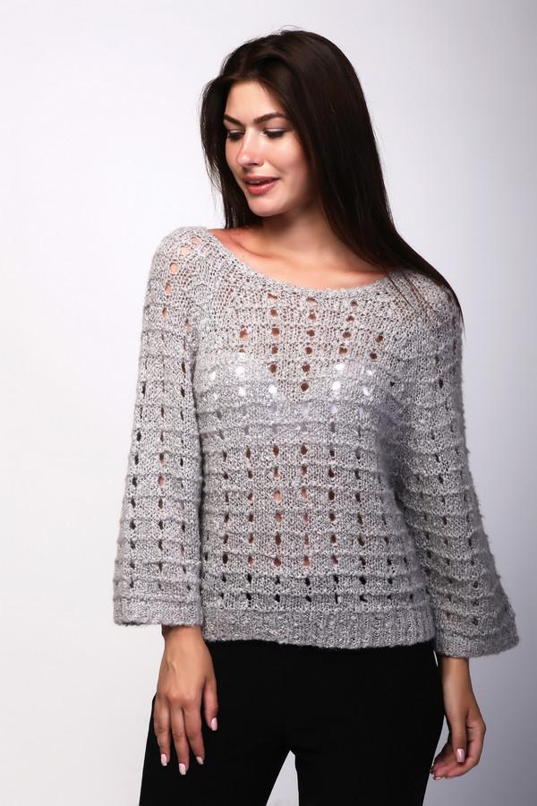 Пуловер Betty BarclayПуловеры<br><br><br>Размер RU: 48<br>Пол: Женский<br>Возраст: Взрослый<br>Материал: полиэстер 15%, шерсть 19%, полиакрил 57%, мохер 9%<br>Цвет: Серый