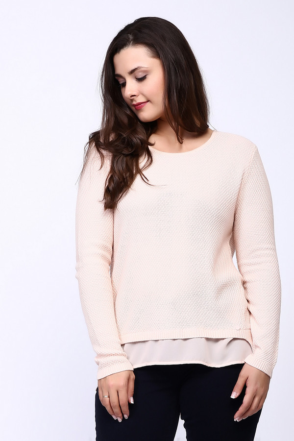Пуловер Betty BarclayПуловеры<br><br><br>Размер RU: 46<br>Пол: Женский<br>Возраст: Взрослый<br>Материал: хлопок 60%, полиакрил 40%<br>Цвет: Розовый