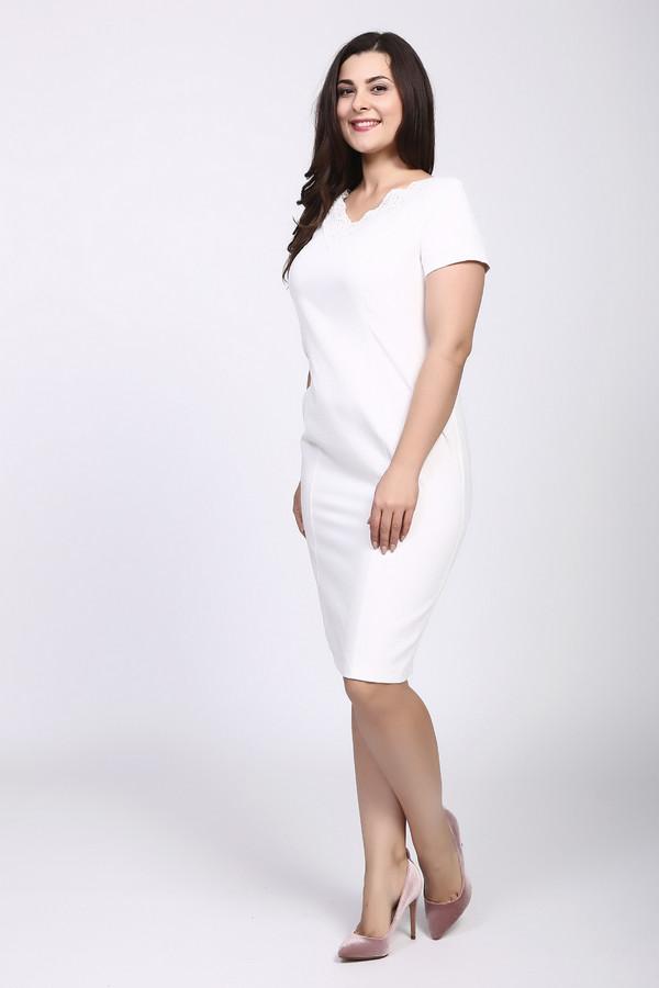 Платье OLBEПлатья<br><br><br>Размер RU: 46<br>Пол: Женский<br>Возраст: Взрослый<br>Материал: полиэстер 85%, район 15%<br>Цвет: Белый
