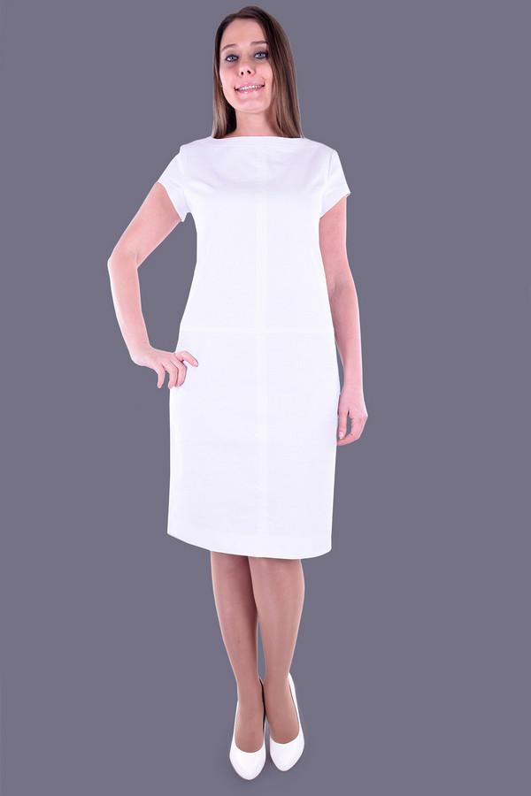 Купить Платье OLBE, Россия, Белый, хлопок 15%, лен 85%
