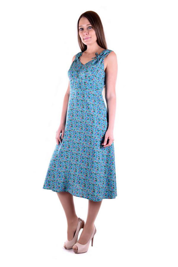 Купить Платье OLBE, Россия, Разноцветный, хлопок 60%, вискоза 40%