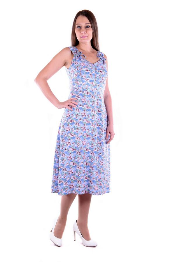 Платье OLBEПлатья<br><br><br>Размер RU: 56<br>Пол: Женский<br>Возраст: Взрослый<br>Материал: хлопок 60%, вискоза 40%<br>Цвет: Разноцветный