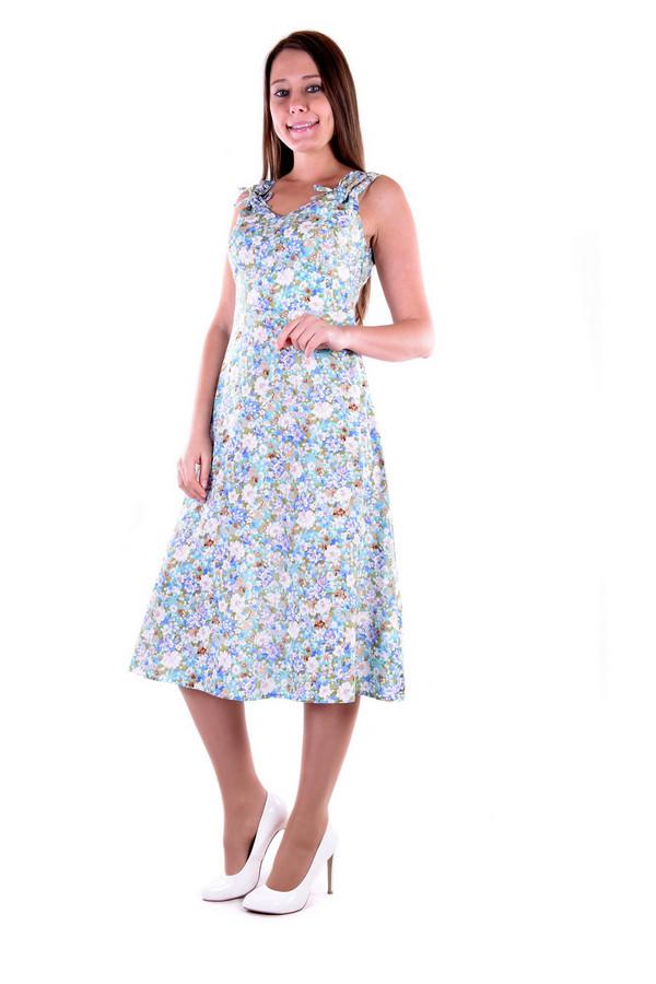 Платье OLBEПлатья<br><br><br>Размер RU: 52<br>Пол: Женский<br>Возраст: Взрослый<br>Материал: вискоза 100%<br>Цвет: Разноцветный