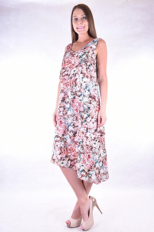 Платье OLBEПлатья<br><br><br>Размер RU: 46<br>Пол: Женский<br>Возраст: Взрослый<br>Материал: вискоза 100%<br>Цвет: Разноцветный