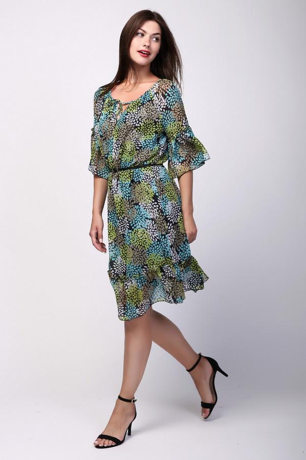 Платье ArgentПлатья<br><br><br>Размер RU: 50<br>Пол: Женский<br>Возраст: Взрослый<br>Материал: полиэстер 100%<br>Цвет: Разноцветный