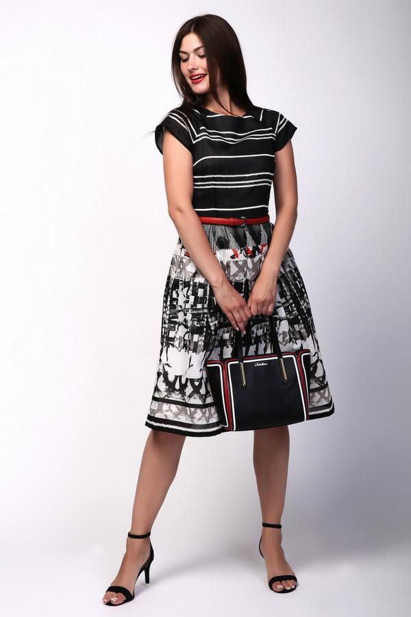 Платье ArgentПлатья<br><br><br>Размер RU: 46<br>Пол: Женский<br>Возраст: Взрослый<br>Материал: полиэстер 100%, Состав_2 вискоза 100%<br>Цвет: Разноцветный
