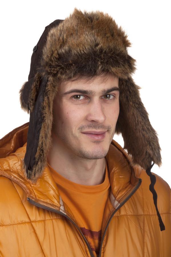 Шапка GottmannШапки<br>Стильная мужская шапка-ушанка от бренда Guttmann – предмет не только комфорта, но и роскоши. Натуральная кожа– отличительные черты этой шапки. Цвет модели – коричневый. С такой шапкой можно хоть на обычную прогулку, хоть на Северный Полюс. Изделие дополнено двойными, плотно прилегающими «ушами», с которыми не страшен никакой холод.<br><br>Размер RU: 57<br>Пол: Мужской<br>Возраст: Взрослый<br>Материал: кожа 100%<br>Цвет: Коричневый
