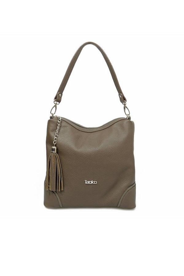 женская сумка taoko tanishi, коричневая