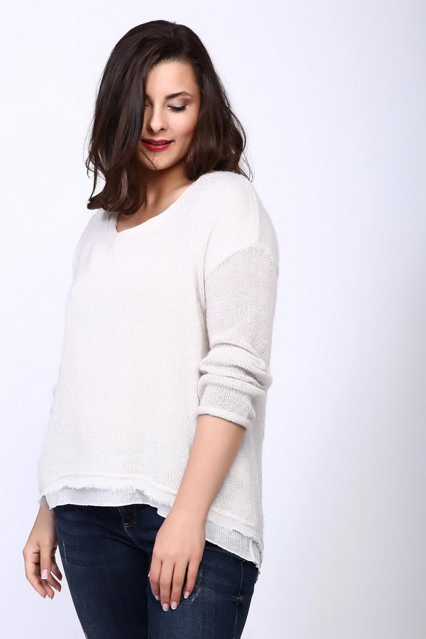 Пуловер Marc AurelПуловеры<br><br><br>Размер RU: 46<br>Пол: Женский<br>Возраст: Взрослый<br>Материал: хлопок 30%, полиамид 17%, полиакрил 36%, шерсть 11%, мохер 6%<br>Цвет: Белый