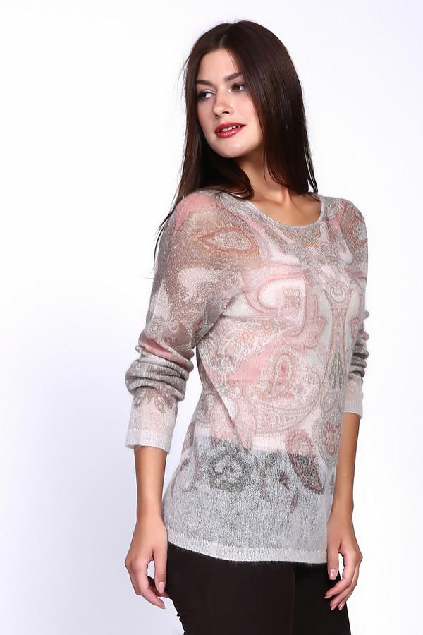 Пуловер Marc CainПуловеры<br><br><br>Размер RU: 50<br>Пол: Женский<br>Возраст: Взрослый<br>Материал: полиамид 37%, шерсть 19%, мохер 44%<br>Цвет: Розовый