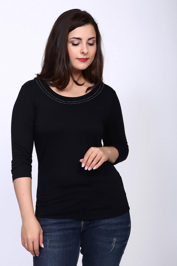 женская футболка steilmann, черная