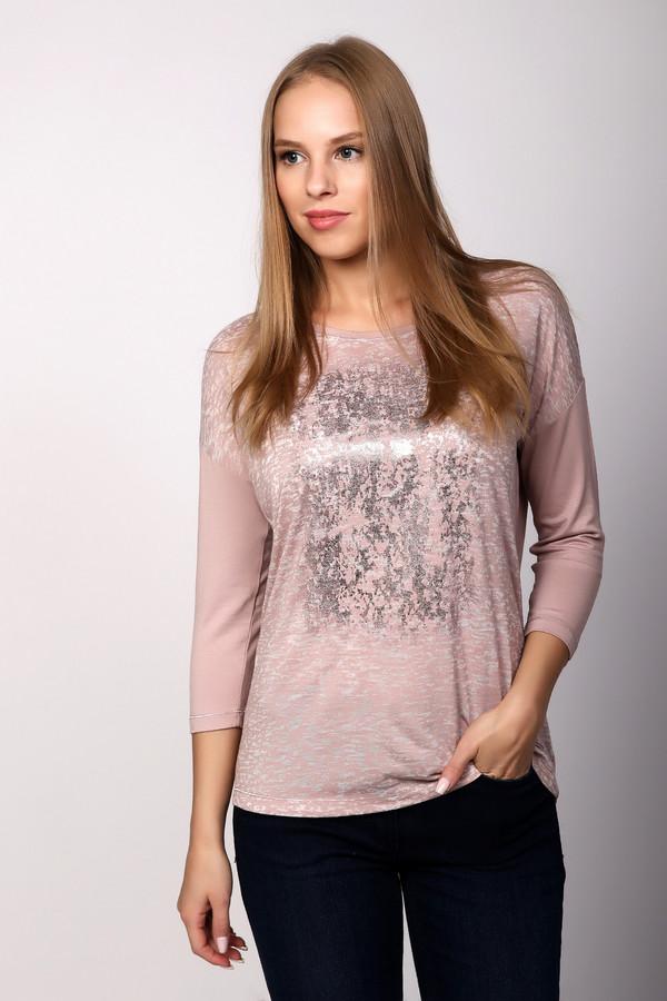 Футболка SteilmannФутболки<br>Футболка фирмы Steilmann розового цвета. Модель прямого кроя . Ворот округлый, рукава 3/4 длинны приспущены. Длина изделия до бедер. Ткань состоит из 95% вискозы и 5% эластана. Декоративный рисунок, расположенный на передней части футболки, добавляет шарма этой модели. Футболка очень комфортна и романтична.<br><br>Размер RU: 46<br>Пол: Женский<br>Возраст: Взрослый<br>Материал: эластан 5%, вискоза 95%<br>Цвет: Розовый