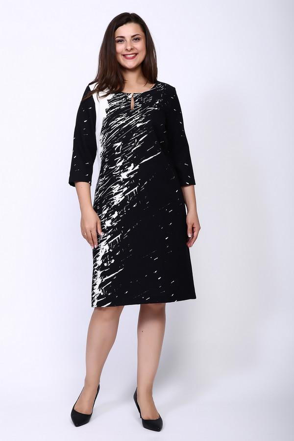 Платье SteilmannПлатья<br><br><br>Размер RU: 52<br>Пол: Женский<br>Возраст: Взрослый<br>Материал: эластан 9%, полиэстер 91%<br>Цвет: Разноцветный