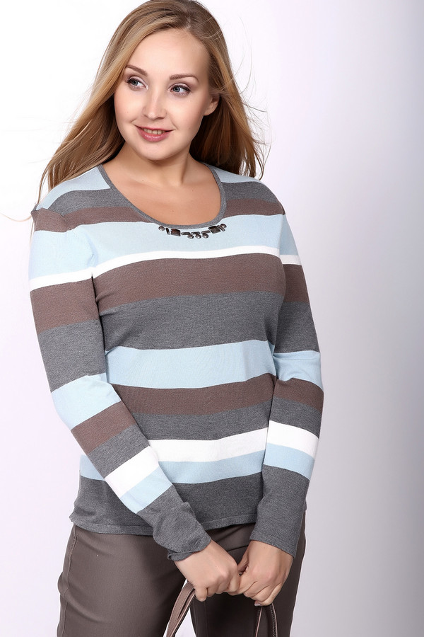 Пуловер Gerry WeberПуловеры<br><br><br>Размер RU: 50<br>Пол: Женский<br>Возраст: Взрослый<br>Материал: полиамид 20%, вискоза 80%<br>Цвет: Разноцветный