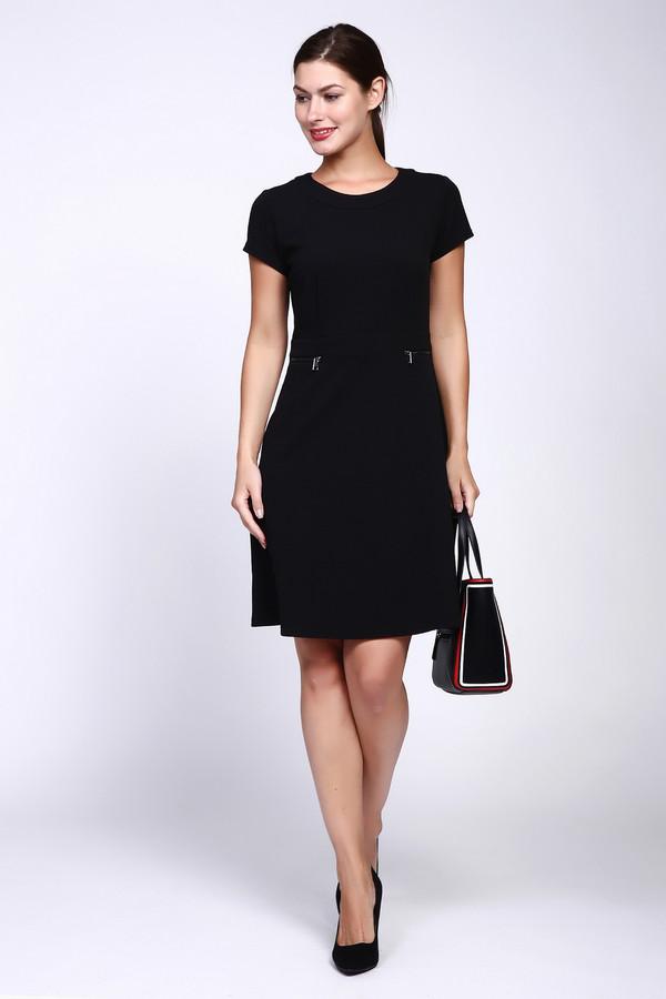 Платье TaifunПлатья<br><br><br>Размер RU: 44<br>Пол: Женский<br>Возраст: Взрослый<br>Материал: эластан 5%, полиэстер 95%<br>Цвет: Чёрный