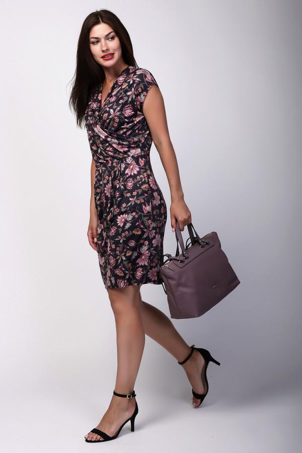 женское платье без рукавов betty barclay, разноцветное