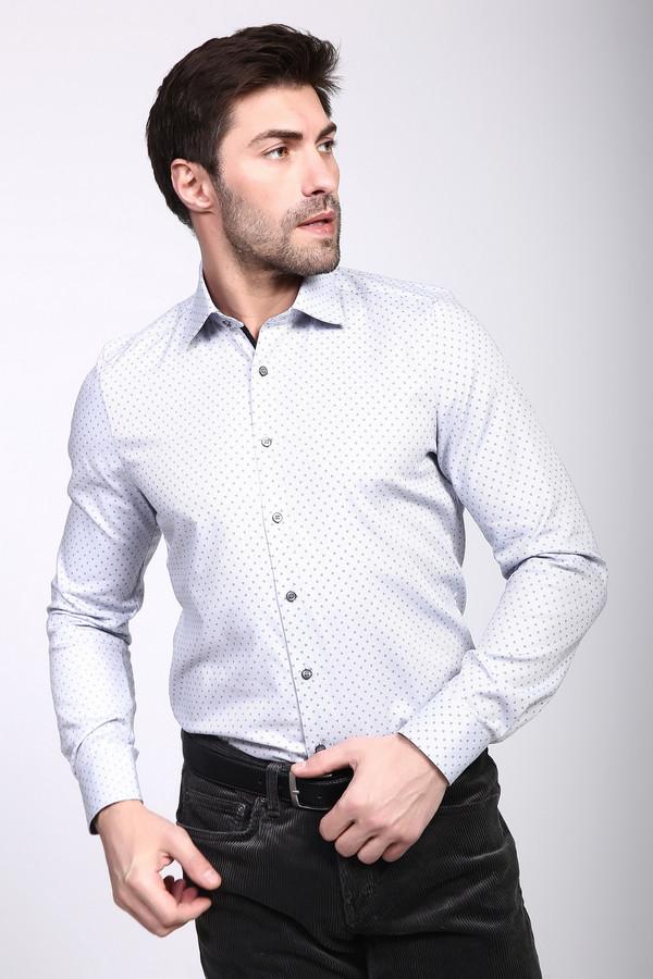 Рубашка с длинным рукавом OlympДлинный рукав<br><br><br>Размер RU: 42<br>Пол: Мужской<br>Возраст: Взрослый<br>Материал: эластан 3%, хлопок 97%<br>Цвет: Белый