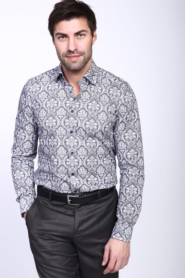 Рубашка с длинным рукавом OlympДлинный рукав<br><br><br>Размер RU: 42<br>Пол: Мужской<br>Возраст: Взрослый<br>Материал: эластан 3%, хлопок 97%<br>Цвет: Серый