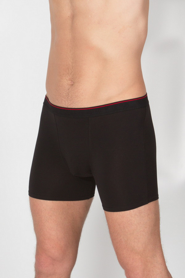 Трусы Uomo Fiero underwearТрусы<br><br><br>Размер RU: 48<br>Пол: Мужской<br>Возраст: Взрослый<br>Материал: эластан 5%, хлопок 95%<br>Цвет: Чёрный