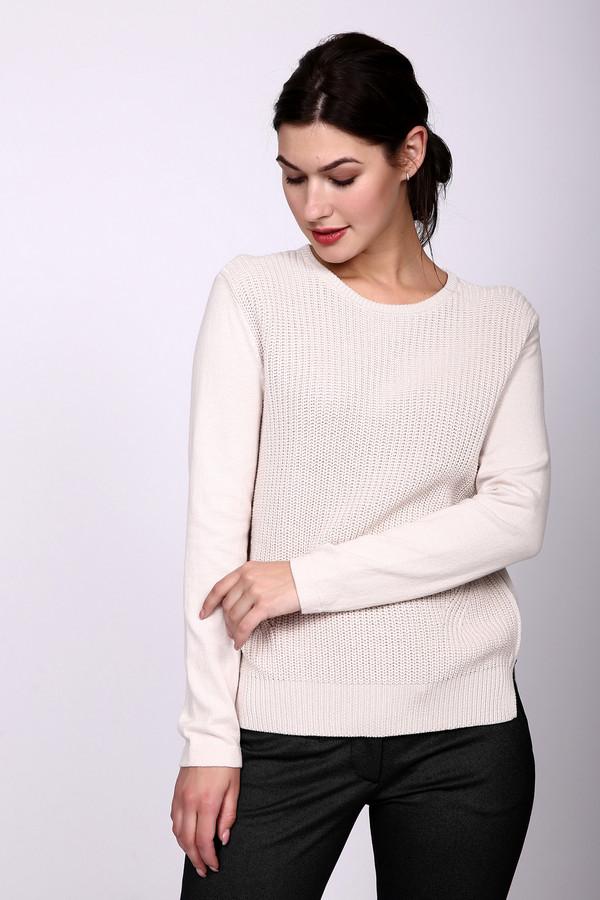 Пуловер OuiПуловеры<br><br><br>Размер RU: 50<br>Пол: Женский<br>Возраст: Взрослый<br>Материал: хлопок 100%<br>Цвет: Бежевый