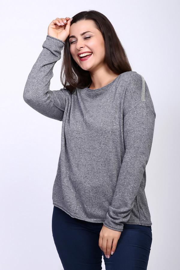 Пуловер LecomteПуловеры<br><br><br>Размер RU: 46<br>Пол: Женский<br>Возраст: Взрослый<br>Материал: полиамид 45%, вискоза 50%, кашемир 5%<br>Цвет: Серый