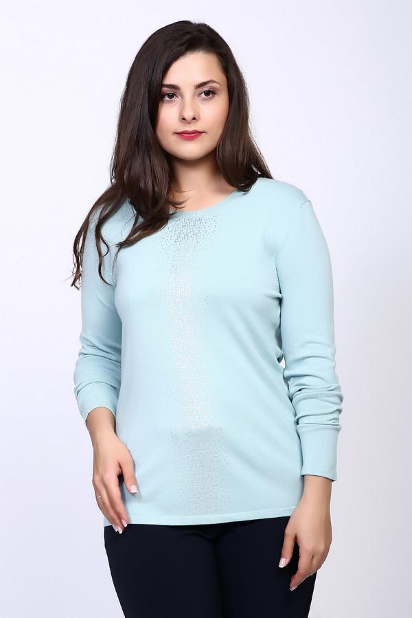Пуловер Gerry WeberПуловеры<br><br><br>Размер RU: 48<br>Пол: Женский<br>Возраст: Взрослый<br>Материал: полиамид 20%, вискоза 80%<br>Цвет: Голубой