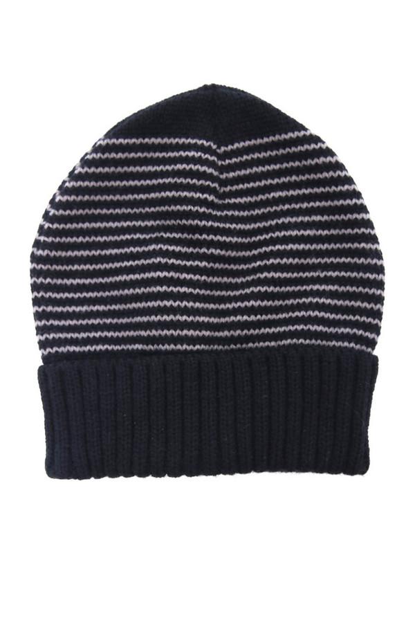 мужская шапка wegener, синяя