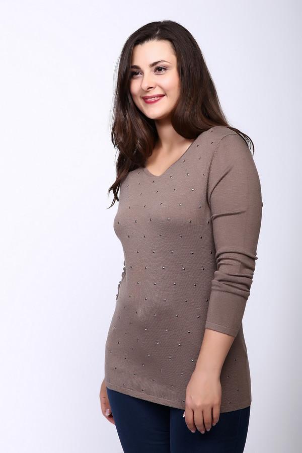 Пуловер Gerry WeberПуловеры<br><br><br>Размер RU: 48<br>Пол: Женский<br>Возраст: Взрослый<br>Материал: полиамид 20%, вискоза 80%<br>Цвет: Бежевый