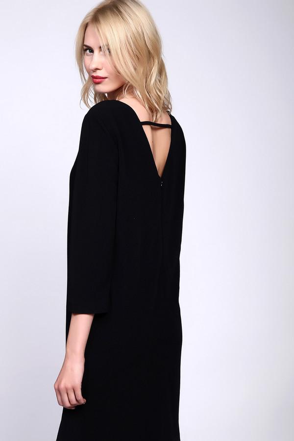 женское классические платье just valeri, черное
