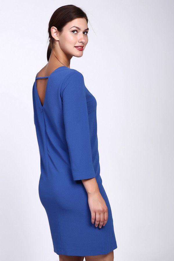 Платье Just ValeriПлатья<br><br><br>Размер RU: 50<br>Пол: Женский<br>Возраст: Взрослый<br>Материал: полиэстер 95%, спандекс 5%, Состав_подкладка полиэстер 100%<br>Цвет: Синий