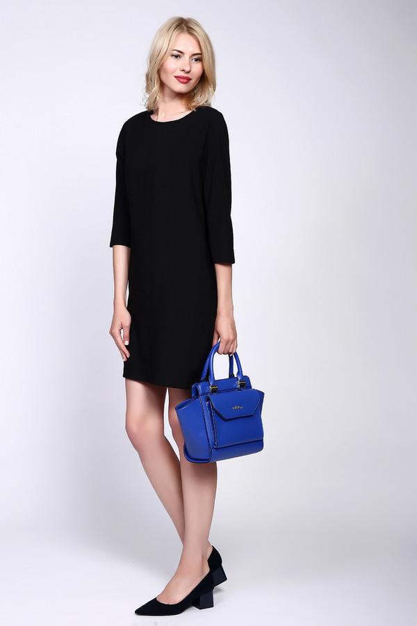 Платье PezzoПлатья<br><br><br>Размер RU: 50<br>Пол: Женский<br>Возраст: Взрослый<br>Материал: полиэстер 100%, Состав_подкладка полиэстер 100%<br>Цвет: Чёрный