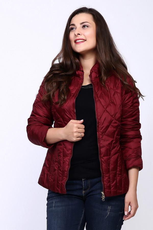 Куртка PezzoКуртки<br><br><br>Размер RU: 48<br>Пол: Женский<br>Возраст: Взрослый<br>Материал: нейлон 100%, Состав_подкладка полиэстер 100%, Состав_наполнитель полиэстер 100%<br>Цвет: Красный