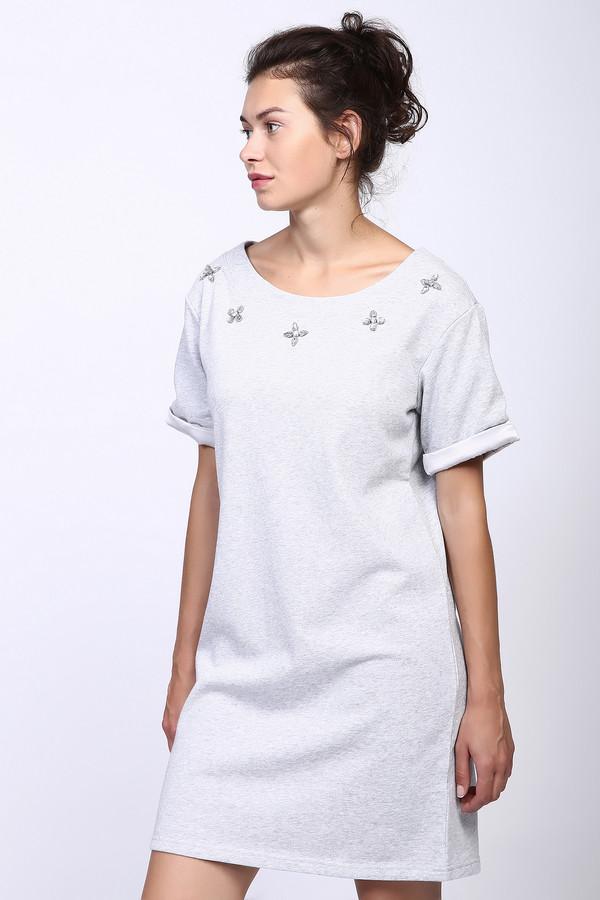 Платье PezzoПлатья<br><br><br>Размер RU: 48<br>Пол: Женский<br>Возраст: Взрослый<br>Материал: хлопок 100%<br>Цвет: Серый